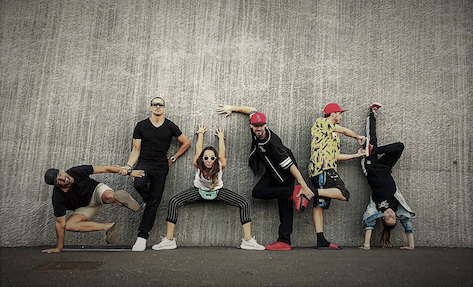 hiphop dance and general choreographed performances for corporate events